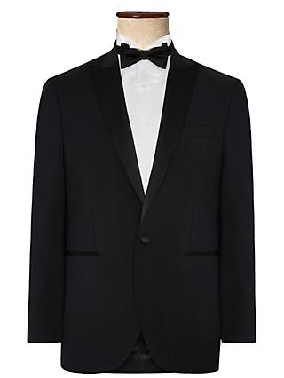 Hackett London Regular Fit Dress Suit Jacket, Black