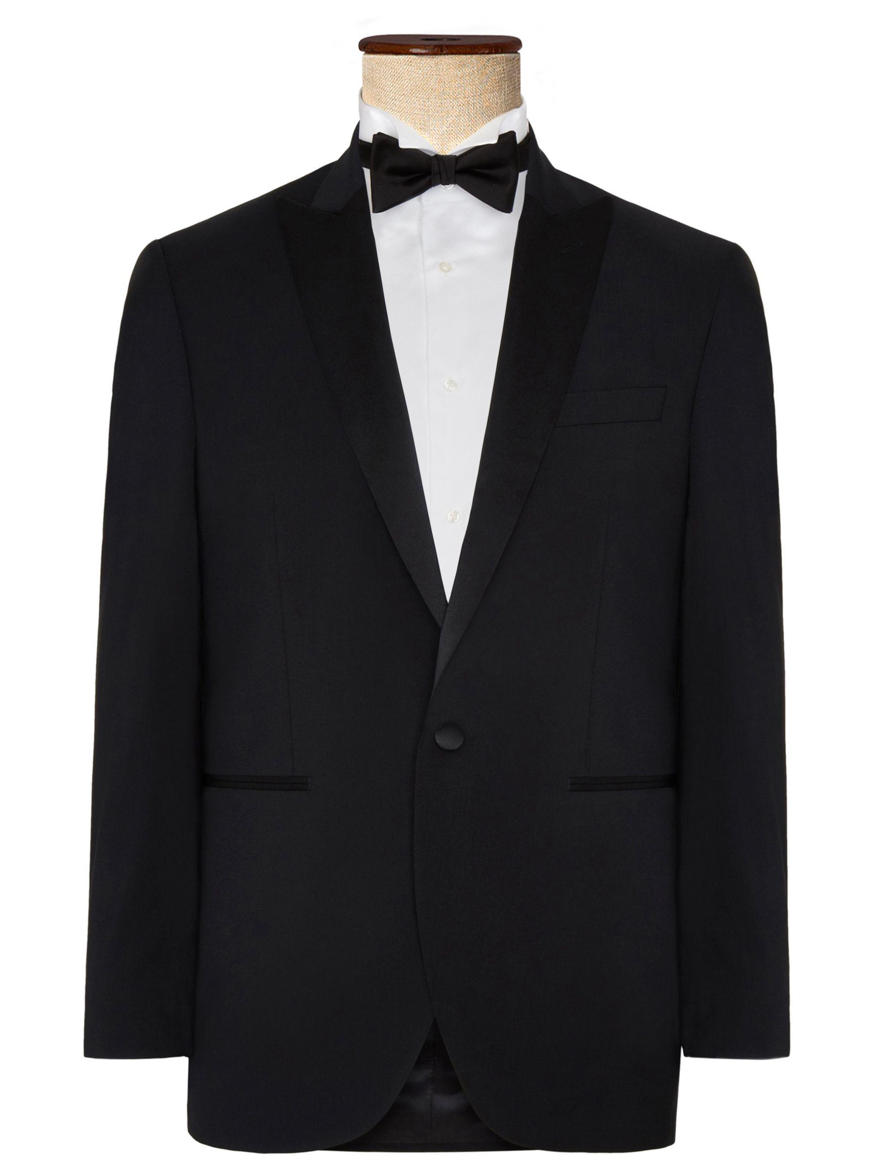 Hackett London Hackett London Regular Fit Dress Suit Jacket, Black
