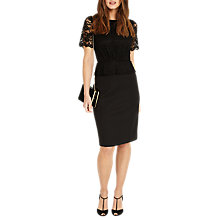 Buy Phase Eight Halsey Lace Shift Dress Online at johnlewis.com