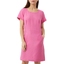 Buy Fenn Wright Manson Petite Linen Santorini Dress, Pink Online at johnlewis.com
