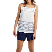 Buy White Stuff Treasure Vest, Navy Online at johnlewis.com