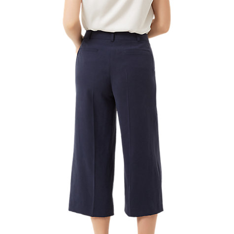 Buy Fenn Wright Manson Petite Prague Culottes, Navy Online at johnlewis.com