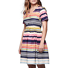 Buy Yumi Nordic Stripe Dress, Multi Online at johnlewis.com