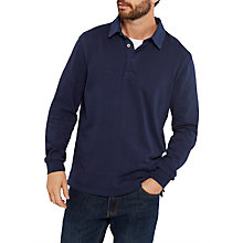 Buy Joules Parkside Rugby Jersey Top, French Navy Online at johnlewis.com