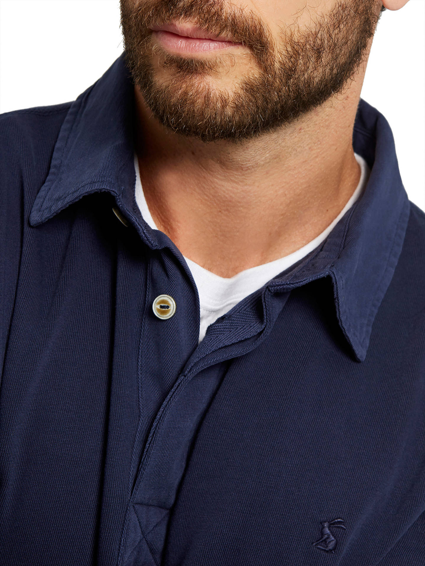 423020c1449 ... Buy Joules Parkside Rugby Jersey Top, French Navy, S Online at  johnlewis.com ...