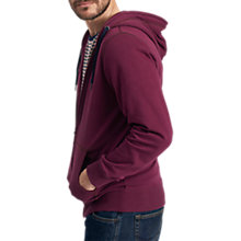Buy Joules Alnwick Hoodie, Plum Online at johnlewis.com