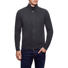 Buy Hackett London Nylon Panel Full Zip Top Online at johnlewis.com