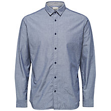 Buy Selected Homme Oneper Shirt, Dark Sapphire Online at johnlewis.com