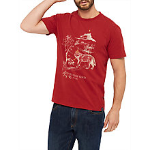 Buy Joules Up To Snow Good Graphic T-Shirt, Rhubarb Online at johnlewis.com