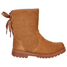 Buy UGG Children's Corene Boot, Chestnut Online at johnlewis.com
