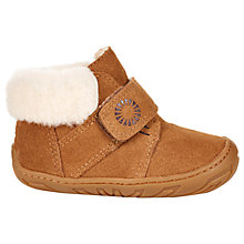 Buy Ugg Children's Jorgen First Boots, Chestnut Online at johnlewis.com