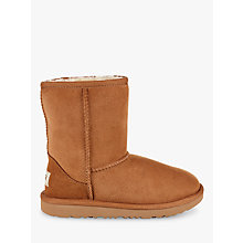 Buy UGG Children's Classic Short II Sheepskin Boots Online at johnlewis.com