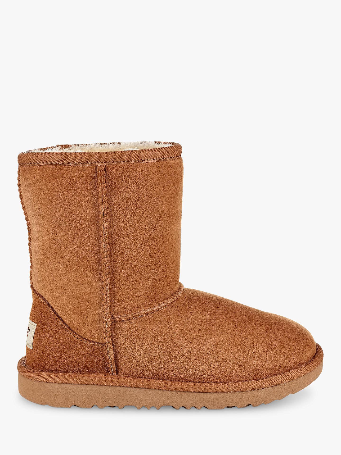 0dc9fadbee1 UGG Children's Classic Short II Sheepskin Boots, Chestnut