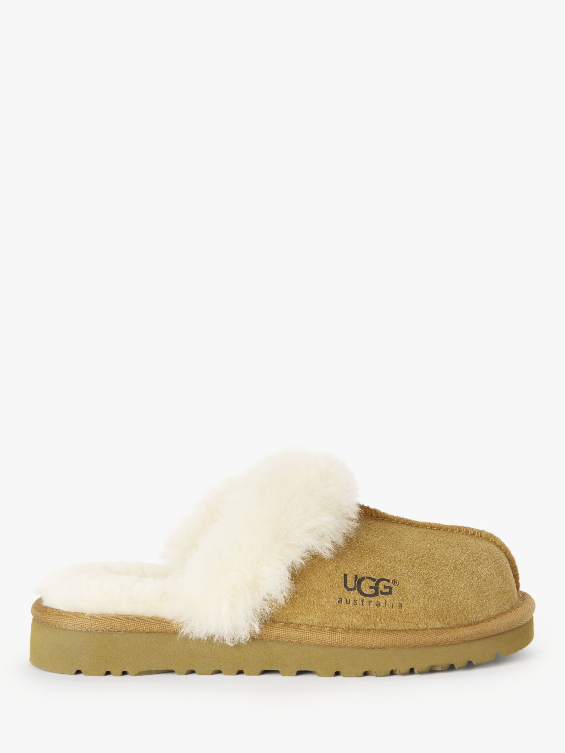 7df358f5b07 UGG Children's Cozy II Sheepskin Slippers at John Lewis & Partners