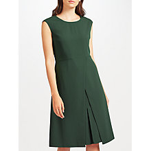 Buy John Lewis Fit and Flare Dress, Khaki Online at johnlewis.com