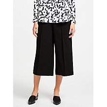 Buy Kin by John Lewis Twill Wide Leg Cropped Trousers Online at johnlewis.com