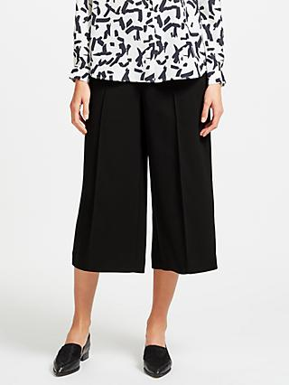 Kin Twill Wide Leg Cropped Trousers