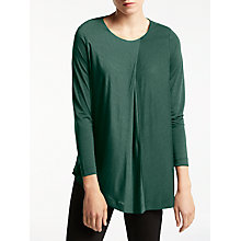 Buy Kin by John Lewis Mercerised Asymmetric T-Shirt Online at johnlewis.com