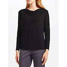 Buy John Lewis Cowl Neck Long Sleeve Jersey Top Online at johnlewis.com