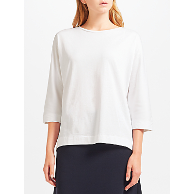 Kin by John Lewis Crew Neck T-Shirt, White