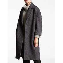 Buy Kin by John Lewis Cocoon Coat, Red Online at johnlewis.com