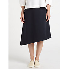 Buy Kin by John Lewis Asymmetric Twill Skirt, Navy Online at johnlewis.com