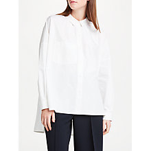 Buy Kin by John Lewis Oversized Shirt, White Online at johnlewis.com