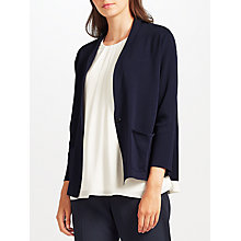 Buy John Lewis Shawl Collar Cardigan, Navy Online at johnlewis.com