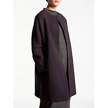 Buy Kin by John Lewis Collarless Cocoon Coat Online at johnlewis.com
