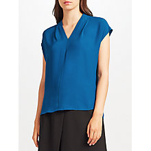 Buy John Lewis Ada Neck Ladder Stitch Top Online at johnlewis.com