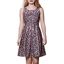 Buy Yumi Floral Print Jacquard Dress, Multi Online at johnlewis.com