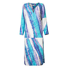 Buy East Linen Abstract Print Kaftan, Capri Online at johnlewis.com