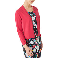 Buy Precis Petite Freya Knitted Shrug, Fuchsia Online at johnlewis.com