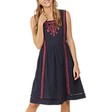 Buy Fat Face Vanessa Embroidered Dress Online at johnlewis.com