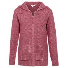 Buy Fat Face Hendon Zip Hoodie, Raspberry Online at johnlewis.com