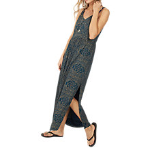 Buy Fat Face Lily Linear Batik Maxi Dress, Blue Sea Online at johnlewis.com