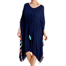 Buy White Stuff Siesta Key Kaftan, Navy Online at johnlewis.com