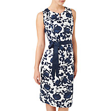 Buy Precis Petite Clip Spot Dress, Navy/Multi Online at johnlewis.com