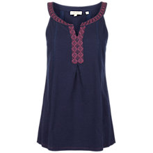 Buy Fat Face Sycamore Embroidered Cami Online at johnlewis.com