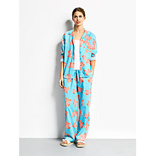 Buy hush Koi Print Pyjama Set, Radiance/Coral Online at johnlewis.com