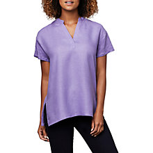 Buy East Placket Front Combination Top, Wisteria Online at johnlewis.com