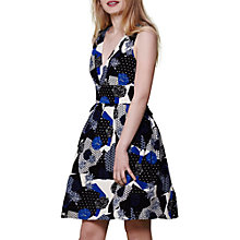 Buy Yumi V-Neck Printed Dress, Multi Online at johnlewis.com