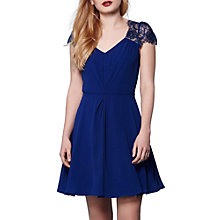 Buy Yumi V-Neck Lace Trim Dress Online at johnlewis.com