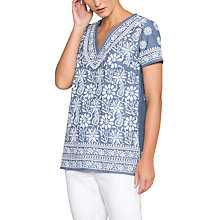 Buy East Embroidered Dna Top Online at johnlewis.com