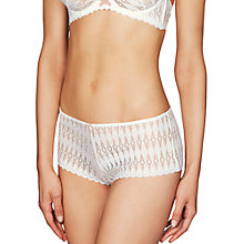 Buy Heidi Klum Intimates Dreamtime Shorts, Gardenia/Scallop Shell Online at johnlewis.com