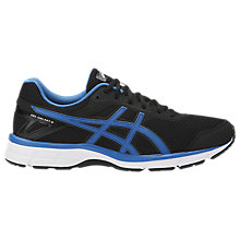 Buy Asics GEL-GALAXY 9 Men's Running Shoes, Black/Blue Online at johnlewis.com