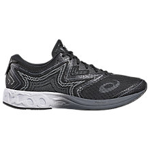 Buy Asics GEL-NOOSA Men's Running Shoes, Black/White Online at johnlewis.com
