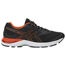 Buy Asics GEL-PULSE 9 Men's Running Shoes, Black/Red Online at johnlewis.com