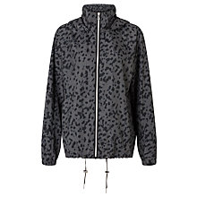 Buy Calvin Klein Oda Printed Pac-a-Mac, Wild Metal Online at johnlewis.com