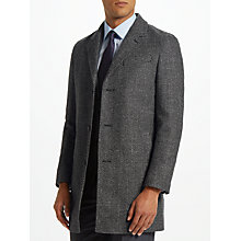 Buy John Lewis Salt & Pepper Epsom Coat, Charcoal Online at johnlewis.com